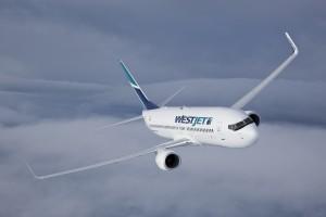WestJet 737-800. Image courtesy: WestJet.