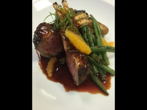 Lamb dish at Gannon's in Wailea. Photo by Bret Pafford.