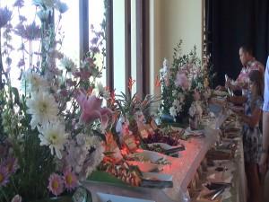 Easter brunch spread at Mākena Beach & Golf Resort. Photo by Kiaora Bohlool.