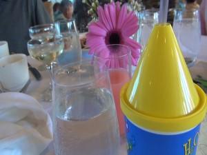 Table at at Mākena Beach & Golf Resort's Easter brunch. Photo by Kiaora Bohlool.
