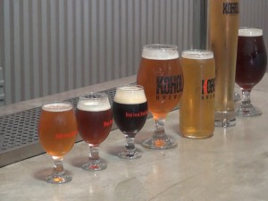 A wide range of quality beer at Koholā, a new microbrewery in Lahaina. Photo by Kiaora Bohlool.