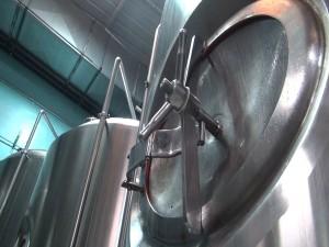 Brewing equipment at Koholā Brewery in Lahaina. Photo by Kiaora Bohlool.