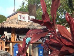 The bar near the pool at Kā'anapali Beach Hotel. Photo by Kiaora Bohlool.