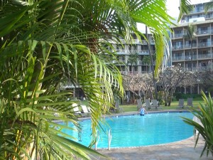 KBH pool and hotel. Photo by Kiaora Bohlool.