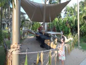 Ka'ililā'au, the canoe built by 280 employees at Kā'anapali Beach Hotel. Photo by Kiaora Bohlool.