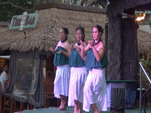 Hula dancers in the free show at KBH, Tuesday through Sunday. Photo by Kiaora Bohlool.