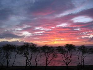 Maui sunset. Photo courtesy of Flickr/Glenn G.