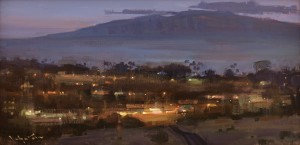 6 - 2016 MPAPI Irvine Museum Honorable Mention,plus the Artists' Choice, Collectors' Choice, One Main Plaza Awards 'Lahaina Glow'
