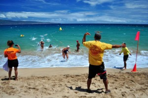 Junior Lifeguard State Championships (7.27.2013) at DT Fleming Beach. File photo courtesy County of Maui.