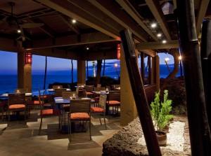 Japengo dining room. Photo courtesy of Hyatt Regency Maui Resort & Spa.