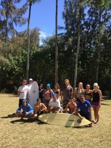 Maui High School surf team. Courtesy photo: Kelly Talavs.