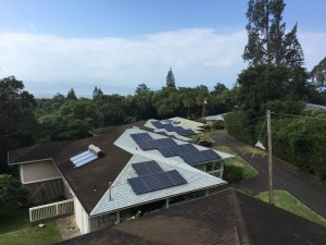 Maui Solar Project recently installed 20 kW of solar panels on the campus of The Maui Farm, a local nonprofit organization.