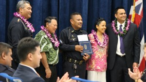 George Arcangel Private Security. Maui Police Department, 6th Crisis Intervention Team graduation. Photo by Wendy Osher. (3/11/16)