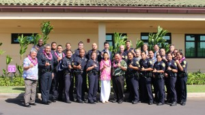 Maui Police Department, 6th Crisis Intervention Team graduation. Photo by Wendy Osher. (3/11/16)