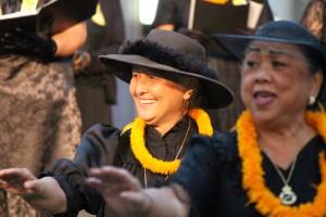 ʻAhahui Kaʻahumanu members. Photo by Wendy Osher. (3.18.16)