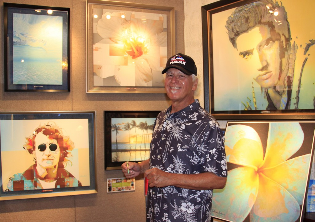 Jeffre Robert Artist Eclectic Image Gallery. Photo credit: Marlo Antes.
