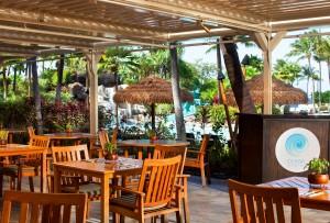 Ocean Pool Bar & Grill at The Westin Kā'anapali Ocean Resort Villas.  Courtesy photo.
