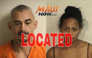 UPDATE: 9:45 p.m. 3/10/16, Roy Soto and Sandra Kahikina have been located and are in police custody. The MauiPolice Department thanked the public for their assistance.