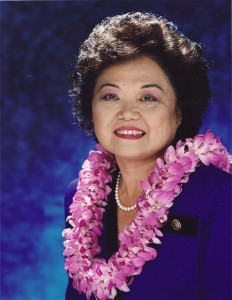 Rep. Mink. Courtesy photo: Hawaiʻi State Foundation on Culture and the Arts.