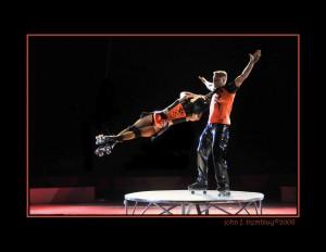 Roller Skating Act. Photo credit: E.K. Fernandez.