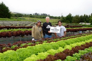Geoff Haines and staff from Waipoli Farms in Kula will be in the Farmers Market tent at Ag Fest. Courtesy photo.