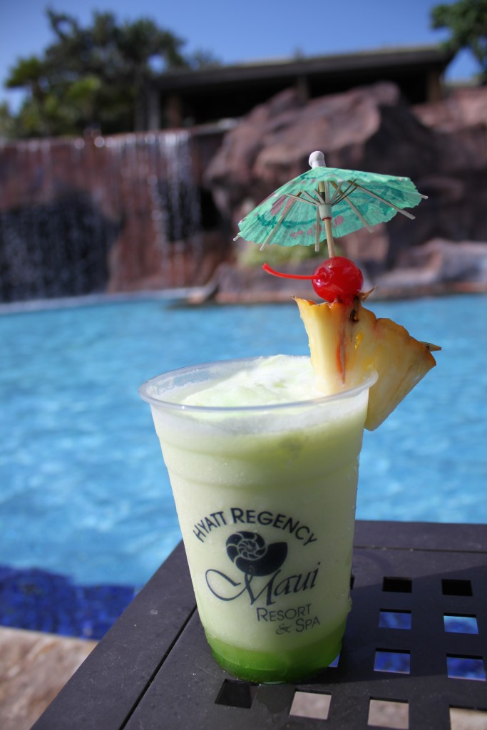 """Green """"Lucky Shamrock"""" cocktail available on St. Patrick's Day at Umalu. Courtesy photo."""
