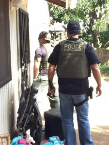 Operation Violence Reduction 12. Photo courtesy US Marshals