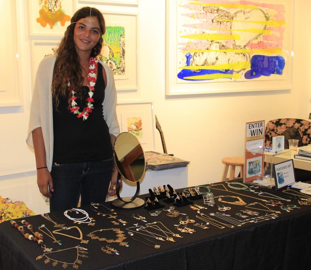 Yelena Noah Jewelry Artist Mouche Gallery. Photo credit: Marlo Antes.