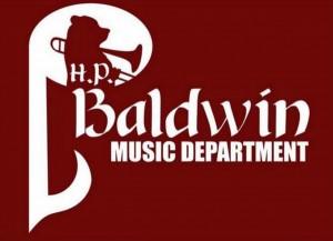 H.P. Baldwin High School Band logo.