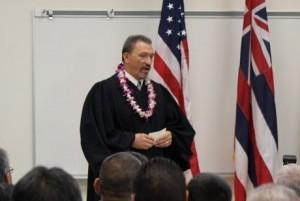 Maui Judge Richard Bissen. File photo by Wendy Osher.