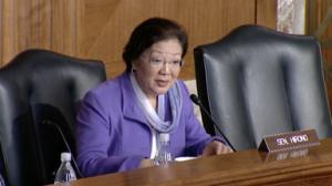 US Senator Mazie Hirono. Courtesy photo: Office of the senator.