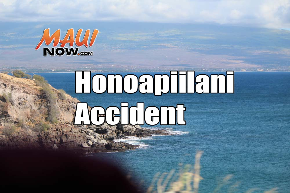 BREAKING: Motorcyclist Goes Over Honoapiilani Guard Rail