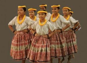Members of Hālau o ka Hanu Lehua. File photo by Wendy Osher.