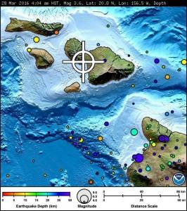 Maui earthquake, 3/28/2016. Image courtesy USGS.