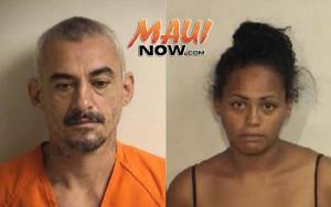 Micheal Roy Soto Jr. (left) and Sandra M. Kahikina (right). Photos courtesy: Maui Police Department.