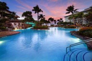 A two-night stay at the Westin Kaanapali Ocean Resort Villas is one of the live auction items at Go for the Green. Photo courtesy of The Westin Kaanapali.