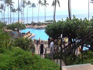 Hyatt Regency Maui pool and ocean view. Photo by Kiaora Bohlool.