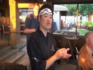 Japengo sushi chef Jin Hosono. Photo by Kiaora Bohlool.