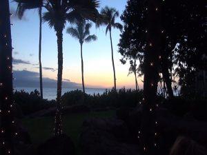 Sunset at Japengo, Hyatt Regency Maui Resort & Spa. Photo by Kiaora Bohlool.