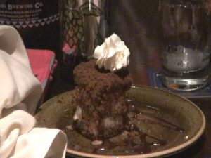 Megan's pie, which Utrillo named to support his daughter's Girl Scout troop. Photo by Kiaora Bohlool.