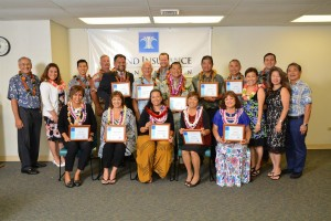 The Island Insurance Foundation has recognized 12 outstanding public school principals nominated for its 12th Annual Masayuki Tokioka Excellence in School Leadership Award in a presentation ceremony on Saturday, April 2nd.