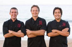 The men of Three's: Cody Christopher, Jaron Blosser & Travis Morrin. Courtesy photo.