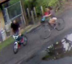 Stolen golf cart. Surveillance images courtesy: Maui Police Department.