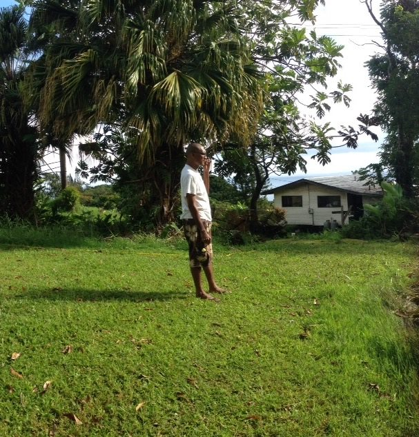 Billy Oliveira. Photo taken in the back of his home on May 26, 2014 — at Nāhiku. Photo credit: Help Us Find Billy Oliveira Facebook page.