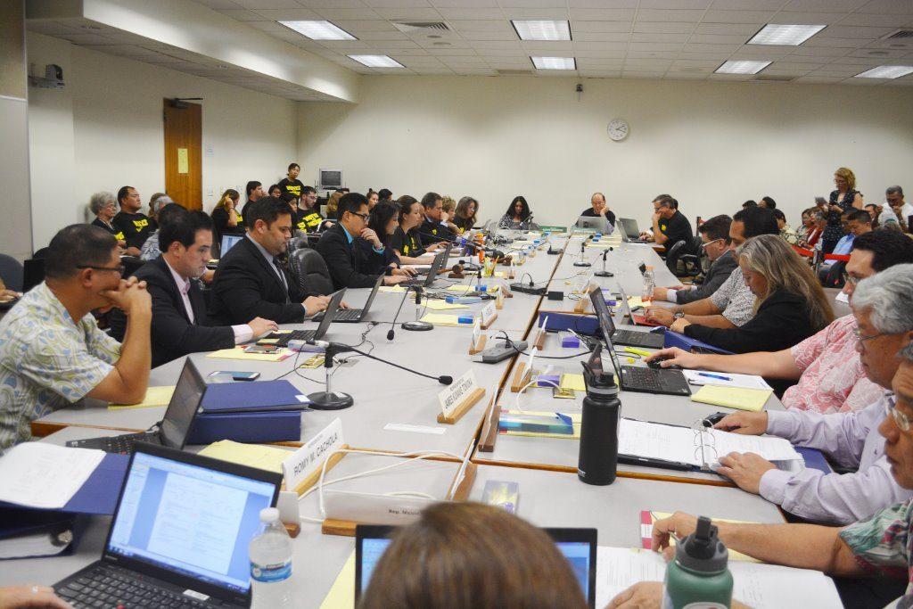 Legislative Conference Committee Begins Budget Negotiations. Photo credit: Hawaiʻi State Legislature.
