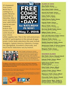 2016 Comic Book Day flyer1