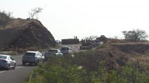 Honoapiilani accident, 4.1.16, photo credit: Seth Welcker.