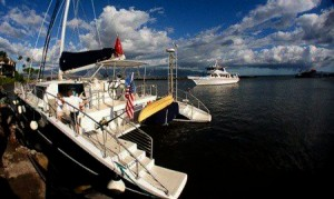 The Maui chapter of internationally-known food & wine society, La Chaîne des Rôtisseurs, is planning a sunset dinner sail to mark World Chaîne Day on April 23. Courtesy photo.