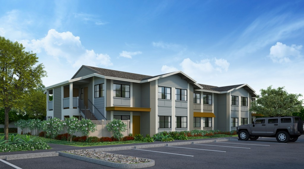 Flats at Kamalani. Project rendering. Courtesy image.