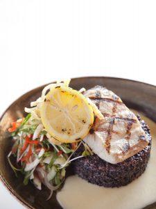 Grilled local Mahi Mahi, on the menu at Japengo, The Hyatt Regency Maui. Photo by Kevin J. Miyazaki/PLATE
